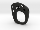 Burnt Ring 5 in Black Strong & Flexible