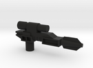 Classics pistol model one- flared in Black Strong & Flexible