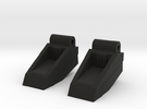 Classics seeker footplates in Black Strong & Flexible