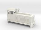 HOn30 Australian Sugar Cane Locomotive  in White Strong & Flexible