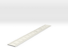 Addressing Ruler in White Strong & Flexible
