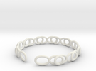Pulsera Infinito in White Strong & Flexible