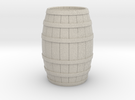 Wood Barrel in Sandstone