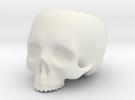 Skull Pot V2 - H60MM in White Strong & Flexible