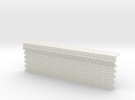 7mm English Bond Brick Station Platform Facing Sec in White Strong & Flexible