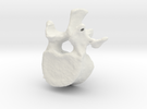 L1 lumbar vertebral body in White Strong & Flexible