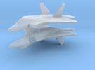 1/300 F-22A Raptor (x2) in Frosted Ultra Detail