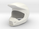 Helmet 8 in White Strong & Flexible