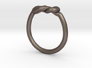 Infinity Knot-sz16 in Stainless Steel