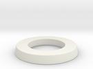 adapter ring for eBike belt disk in White Strong & Flexible