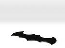 Batarang in Matte Black Steel