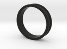 """1 1/2"""" Headset spacer 10mm in Black Strong & Flexible"""