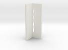 Precision 3° ski edge file guide in White Strong & Flexible