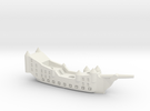 Fantasy Fleet Galleon in White Strong & Flexible