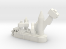 Fantasy Fleet Crusher in White Strong & Flexible