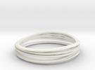 7-error-ring in White Strong & Flexible