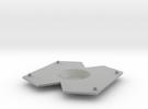 V3 Centre in Metallic Plastic