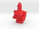 USB Robot in Red Strong & Flexible Polished