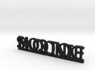 SkoonieDotCom Key Fob in Black Strong & Flexible