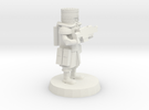 28mm Heroic Scale Space Cossack Trooper  in White Strong & Flexible