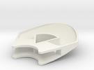 Upper shell in White Strong & Flexible