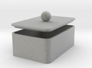 MyBOX 4x6x2 cm in Metallic Plastic