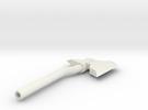 Throwing Axe in White Strong & Flexible