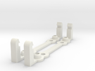 PI MOUNT 2pcs in White Strong & Flexible