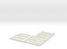 GNSR 14S Flatpack HO in White Strong & Flexible