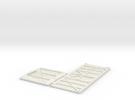 GNSR 16S Flatpack HO in White Strong & Flexible