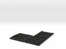 GNSR 16S Flatpack HO in Black Strong & Flexible