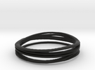 co-creator ring in Black Strong & Flexible