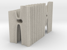 The Hybrid Cathedral - Tessellate A+D in Sandstone