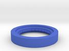 Fischertechnic Wheelbase in Blue Strong & Flexible Polished