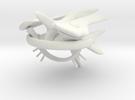 Jujoban Heavy Battleship (alternate) in White Strong & Flexible