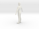 A Pose Humanoid in White Strong & Flexible