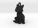 Fox Keychain in Black Strong & Flexible