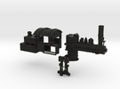 HO Scale Mich Cal Parts in Black Strong & Flexible