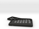 ErgoDox Top Left Case in Black Strong & Flexible