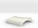 ErgoDox Bottom Right Case (single slope) in White Strong & Flexible