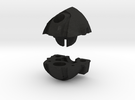 Wrecker Ironfist Head -No Bullet Hole in Black Acrylic