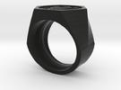 Graduate Ring Model Alt in Black Strong & Flexible