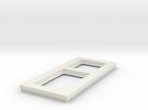 socket frame in White Strong & Flexible