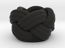 Turks Head in Black Strong & Flexible
