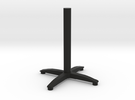 bistro table stand in Black Strong & Flexible