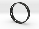 Heart Ring in Black Strong & Flexible
