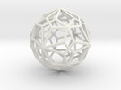 Compound of two pentagonal icositetrahedra in White Strong & Flexible