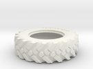 Reifen UNIOG 411 1/32 hohl in White Strong & Flexible