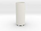 Adapter for Glass Vials v 1 in White Strong & Flexible