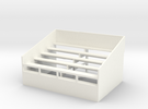 US302 - Small grandstand (H0) in White Strong & Flexible Polished